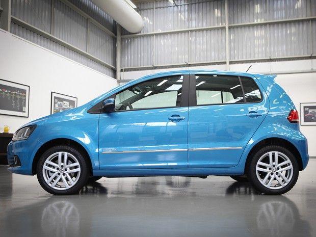 Novo Volkswagen Fox vem com algumas melhoras notáveis e mirando os possíveis compradores do VW Polo. (Foto: Caio Kenji/G1)