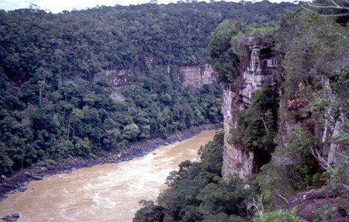 Cañón de Araracuara - Colombia
