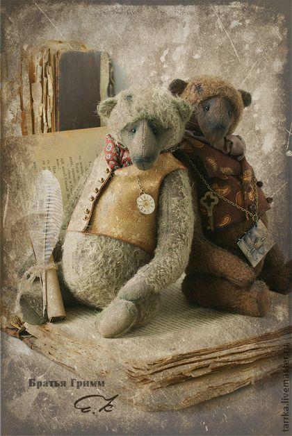 Teddy Bears handmade.  Fair Masters - handmade.  Buy Grimm.  Handmade.  Brown Brothers, pins