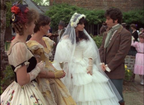 Ashton Main Huntoon in her wedding gown, with guests and Forbes LaMotte.  According to imdb.com, Terri Garber, the actress who played Ashton...