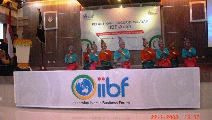 Pelantikan pengurus IIBF Aceh