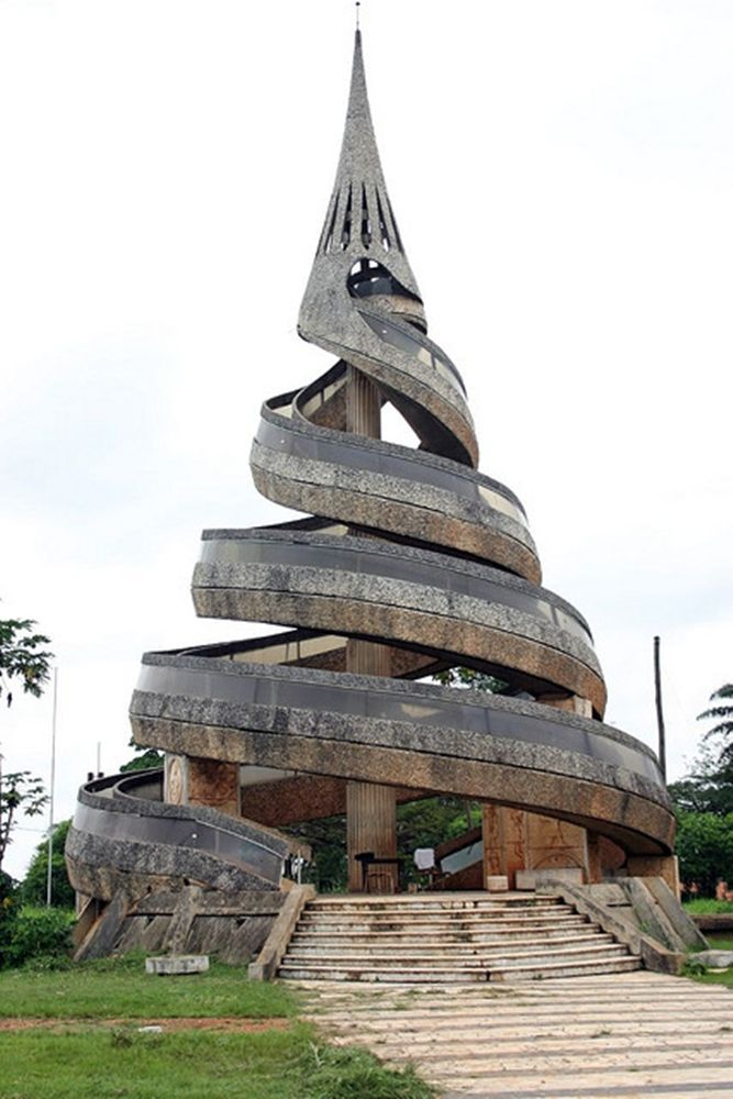 monument yaound cameroon see more in real wowz amazing architecturearchitecture