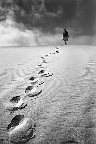 some people will leave footprints in your heat that won't wash away.