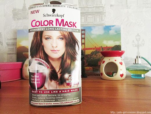 REVIEW - Schwarzkopf Color Mask in '657 Light Copper Brown'. by ~* PALE GIRL REVIEWS *~ .Beauty - Though… on SheSaidBeauty