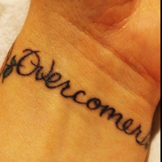 Overcomer I Looveee This Reminds Me Of Mandisa Tattoos Pinterest Tattoo Tatting And