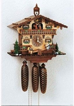 Black Forest Musical Clocks | Black Forest Eight-Day Musical Antique 13-Inch Cuckoo Clock eclectic ...