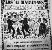 Memento Mori!: El escándalo que convirtió en homofóbico el número 41 en México http://ireneu.blogspot.com.es/2014/07/el-escandalo-que-convirtio-en.html