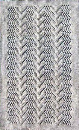 Shawl/Crib cover/Pram cover   Blanket Knitting by carolrosa