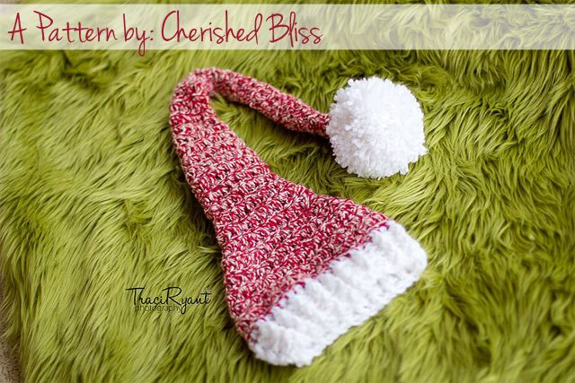 Crochet Pattern Stocking Hat : Stocking Hat Crochet Pattern {free}