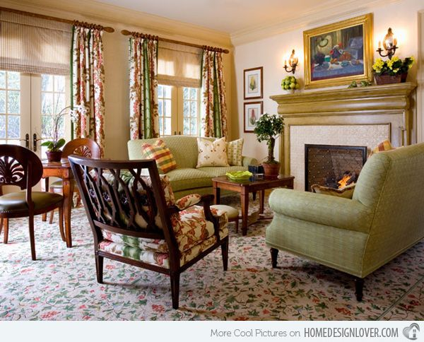 17 Best Ideas About Country Style Living Room On Pinterest