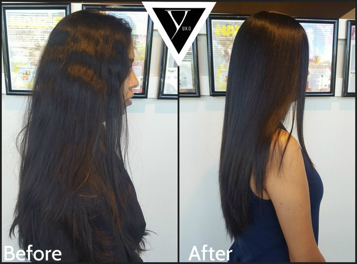 Yuko Hair Straightening makes mornings and hair routines a breeze. Its 100% permanently straight until your new growth comes out, which is about every 6 months.   #yukohairstraightening #japanesehairstraightening
