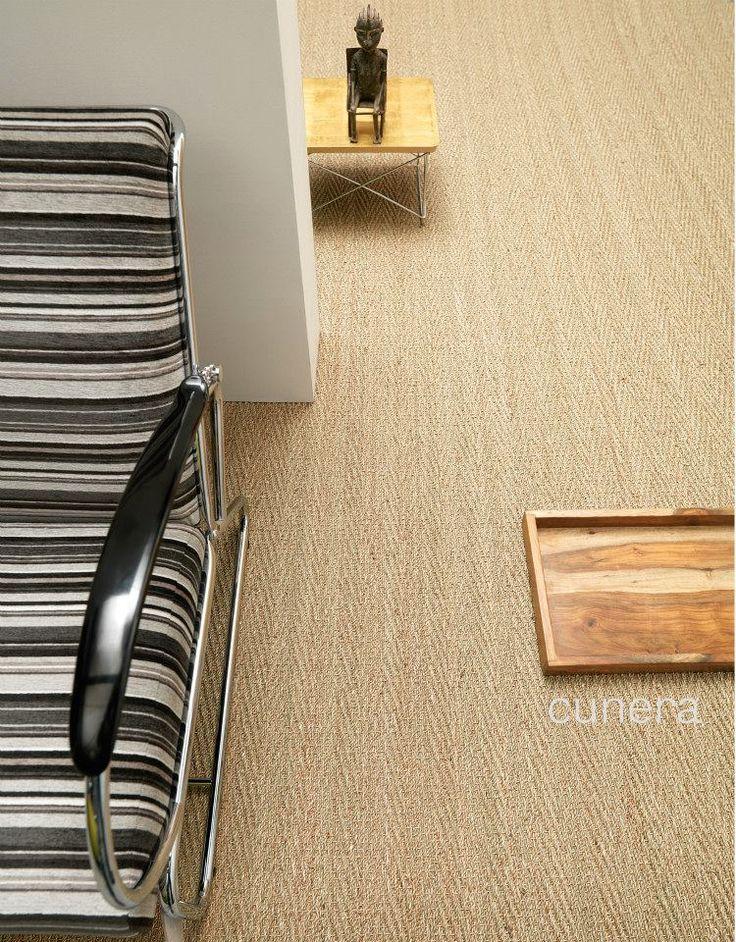 Zeegras! Een #tapijt met een ambachtelijk #design. #interior