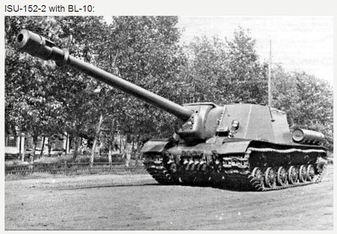 ИСУ-152-2 (объект 247) со 152-мм пушкой БЛ-10 (ISU-152-2 with BL-10) - советская тяжёлая самоходно-артиллерийская установка (САУ) периода Великой Отечественной войны. В названии машины буква «И», в дополнение к стандартному советскому обозначению «СУ» — самоходная установка, означает «на базе танка ИС». САУ того же калибра под названием СУ-152 выпускалось на другой танковой базе.  «Зверобой». В Вермахте её называли «Dosenöffner» (нем. «консервный нож»).