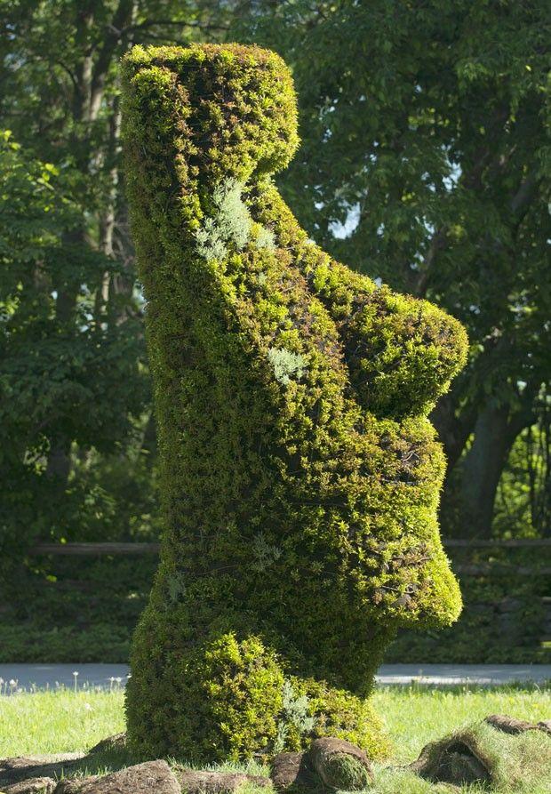 Die Besten 17 Bilder Zu Art Plante Auf Pinterest | Gärten, Hecken ... Lebendige Skulpturen Im Garten Atlanta