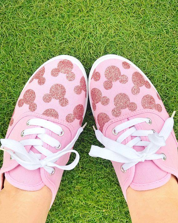 Rose Gold millennial pink hidden mickey glitter disney  e5f3cce19dfe