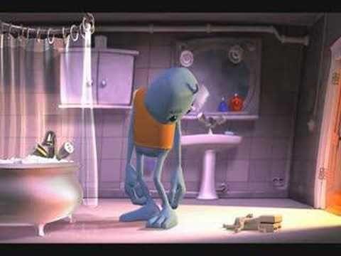 "3d animation short ""Bath Time"""