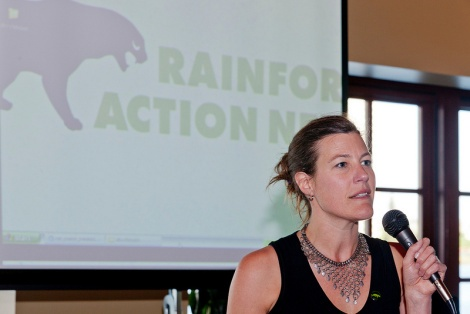 Rebecca Tarbotton, head of Rainforest Action Network, dies at 39  By Lisa Hymas  The green movement has too few visionary leaders and too few women leaders and too few leaders under the age of 40. Tragically, this week it lost one leader who stood out in all three categories.