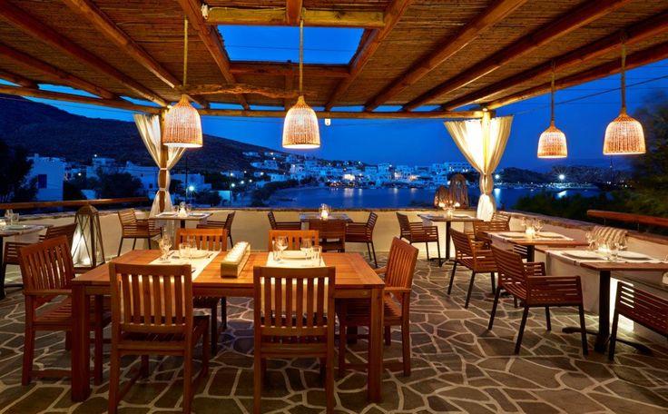 Vegera Restaurant in Vrahos Boutique Hotel