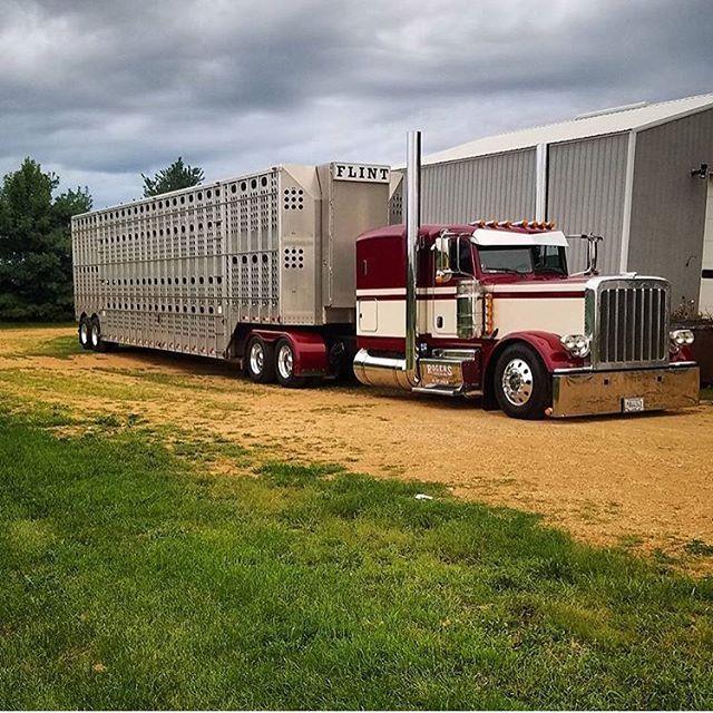 Nice truck! Peterbilt Class pays ...