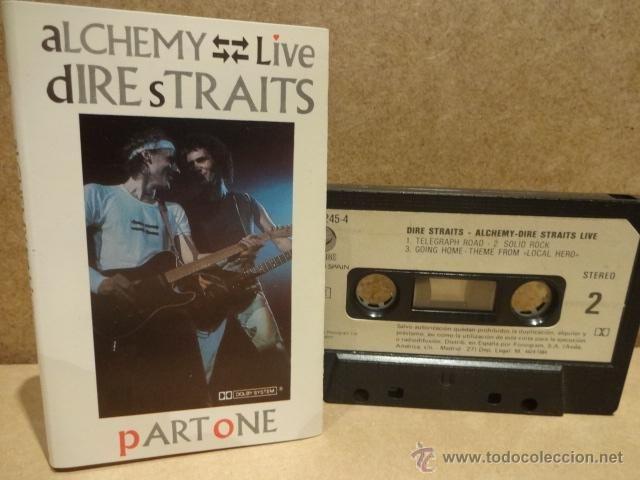 DIRE STRAITS. ALCHEMY - LIVE. PART ONE. MC - VÉRTIGO - 1984. BUENA CALIDAD.
