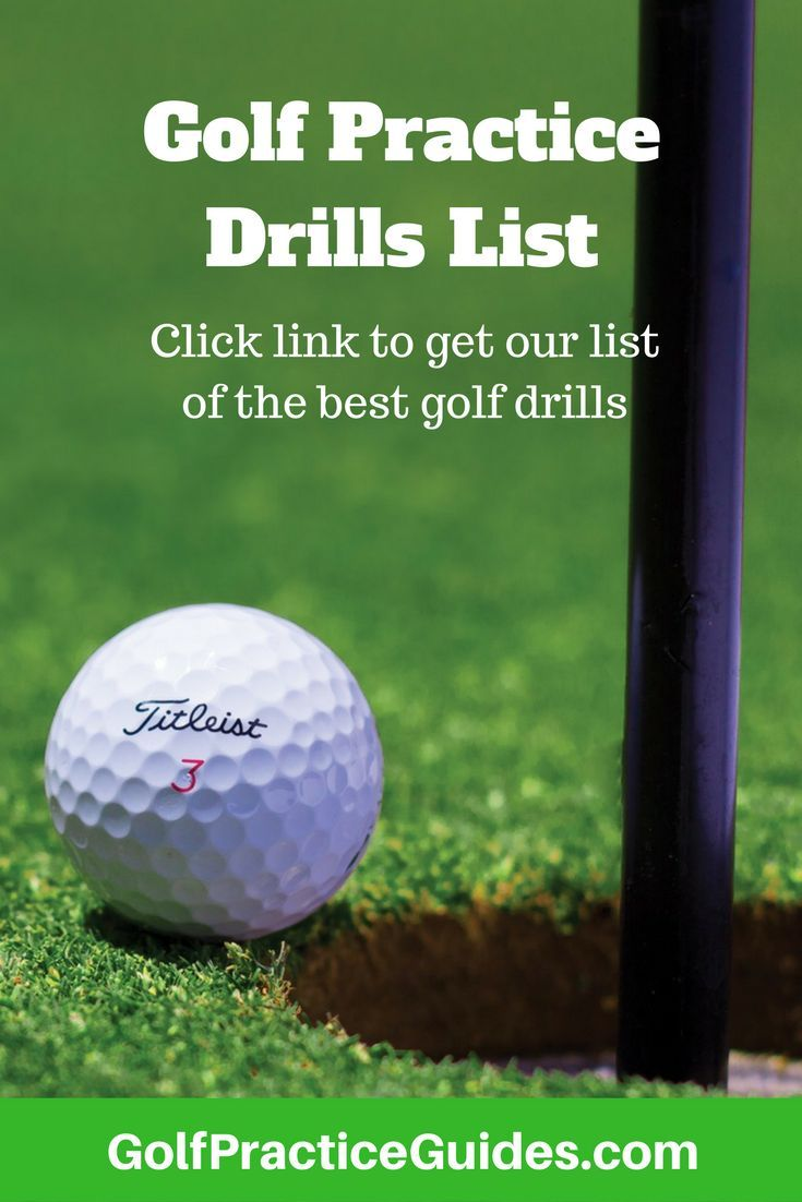 Use this list of golf practice drills, golf swing drills, golf chipping drills, and golf putting drills to help your short game and golf swing improve. These drills are for beginners and can be performed at home as indoor golf drills also. Click to download the list and share with a friend!
