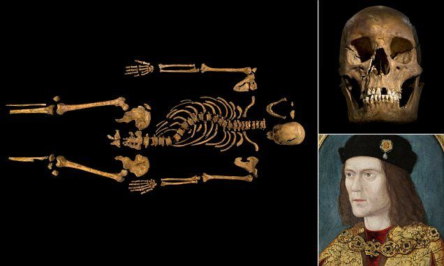 More fascinating details about the remains of Richard III, who of course appears as a leading character in The Sorcerer's Letterbox.
