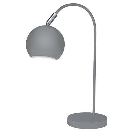 Design House Lounge Desk Lamp Grey 42cm