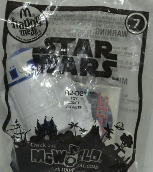 McDonald's 2010 Star Wars R2D2 Toy #7