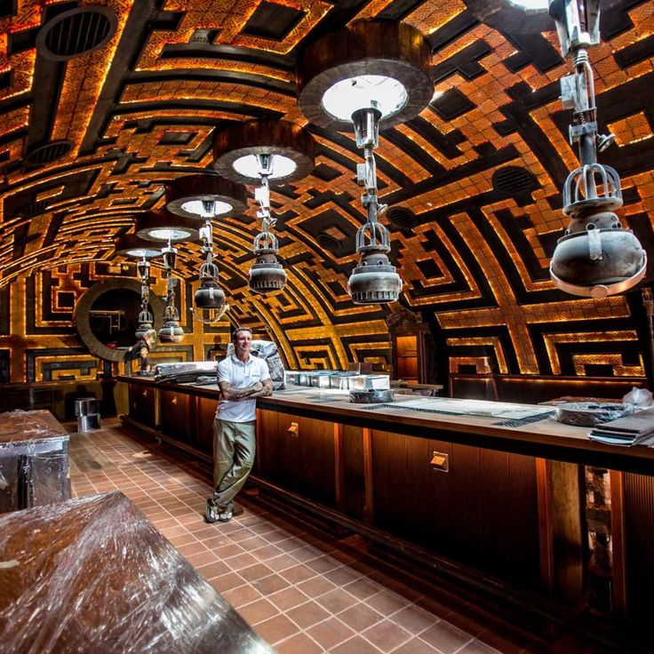 Due to open in 2017, Dreadnoughtis a 400sqm restaurant and bar located in Bangkok. The concept of Dreadnought (fear nothing) was futuristic meet hall located on a intergalactic space ship that serviced the mining industry on distant planets. There are a series and giant moving pistons on the centre table that produce food for workers …