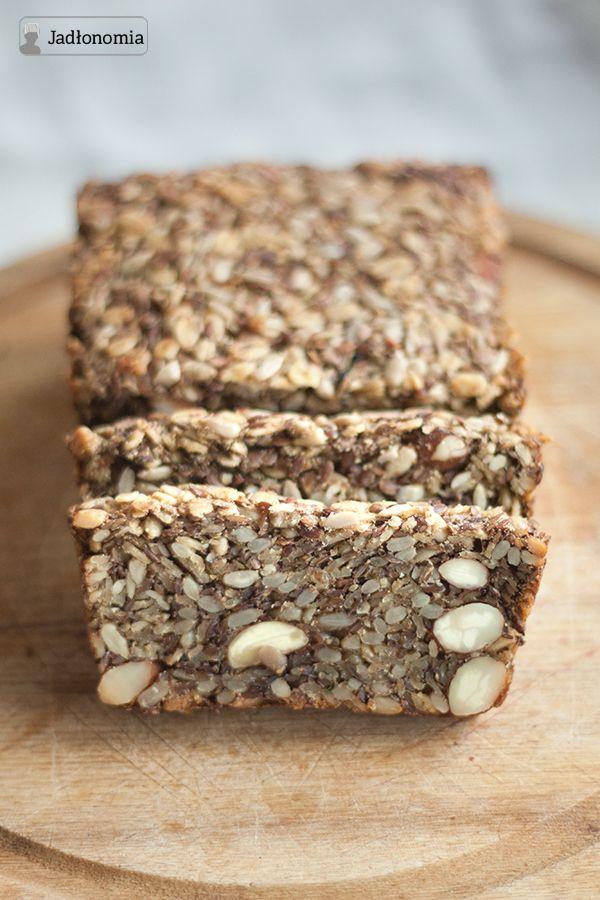 Chlebek alternatywny- na pewno wszystkie skladniki masz w domu! :) mysle ze kaloryczny, ale bez glutenu :)