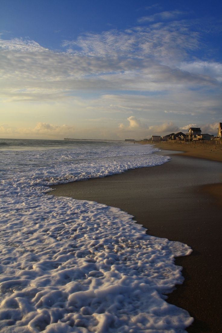 The beach, Kill Devil Hills,NC aka my second home <3