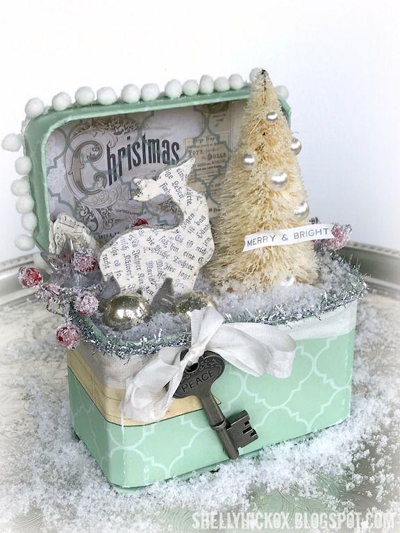 Stamptramp: Christmas Train Case