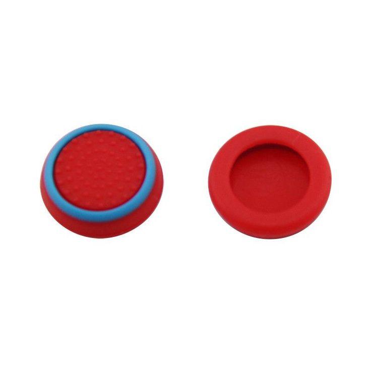 Silicone Analog Thumb Grip Stick Cover,Game Remote Joystick Cap for PS4 Dualshock 4/PS3 Dualshock 3/PS2 Dualshock/Xbox One Wireless/Xbox 360 Controllers Multi-Colors