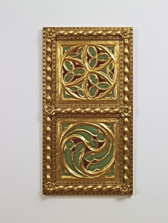 SOFFITTO / PARETE ART. AC 0009, Pannello decorativo dorato, in stile classico