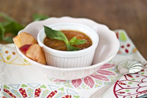 Яблочно-персиковый чатни :)