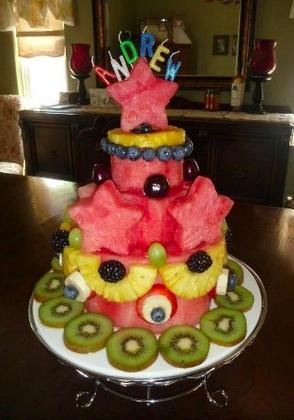Healthy fruit birthday cake recipes Food cake recipes