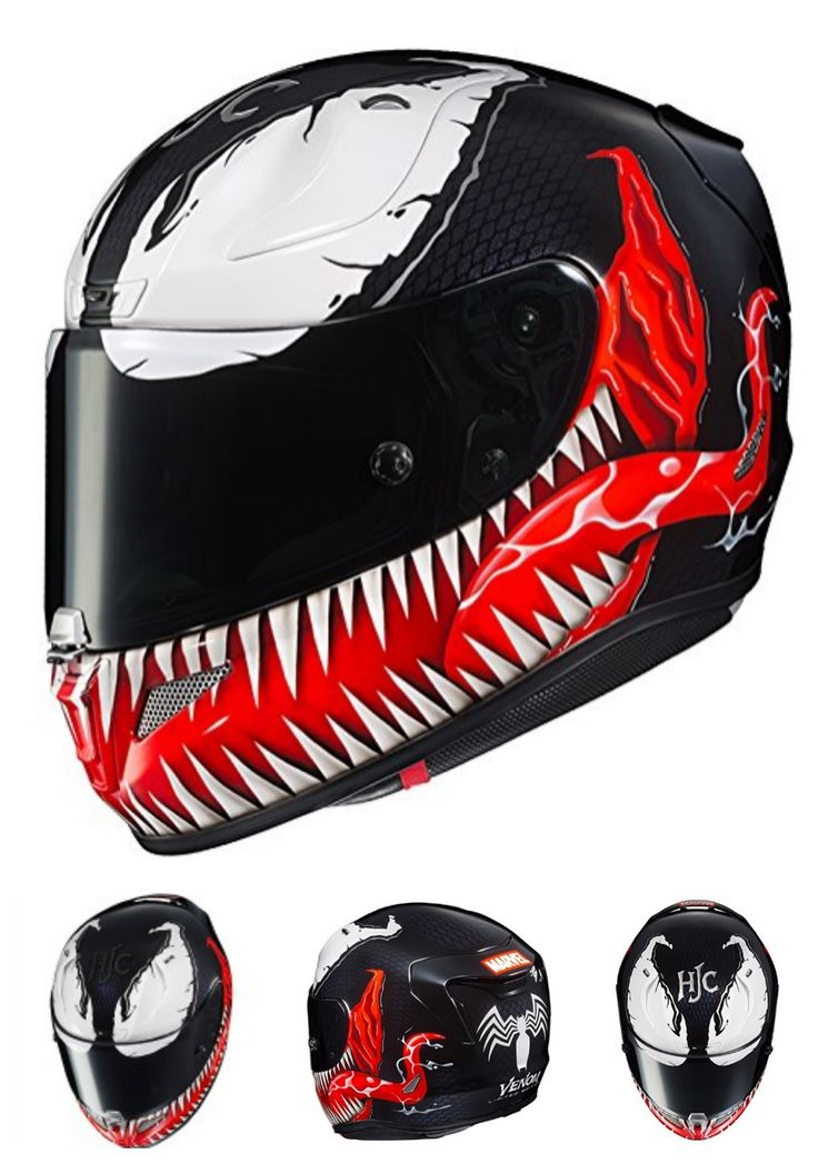 Shark Teeth Motorcycle Helmet Sticker Disrespect1st Com
