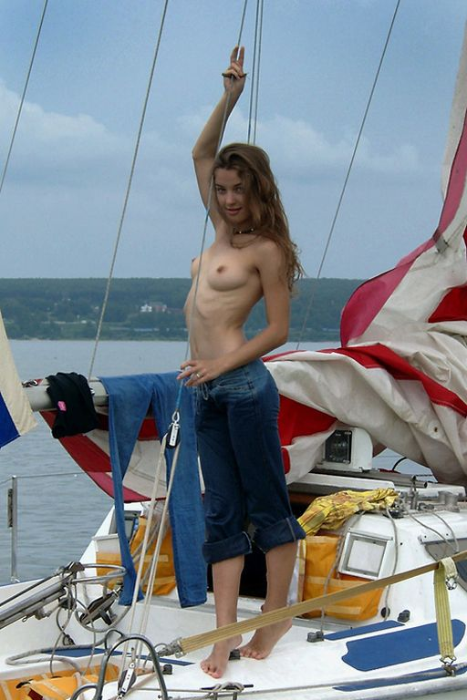 female sailor nude on ship