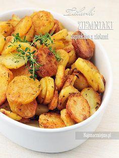 Ziemniaki zapiekane - Talarki, talarki, ziemniaki pieczone, http://najsmaczniejsze.pl #food #talarki