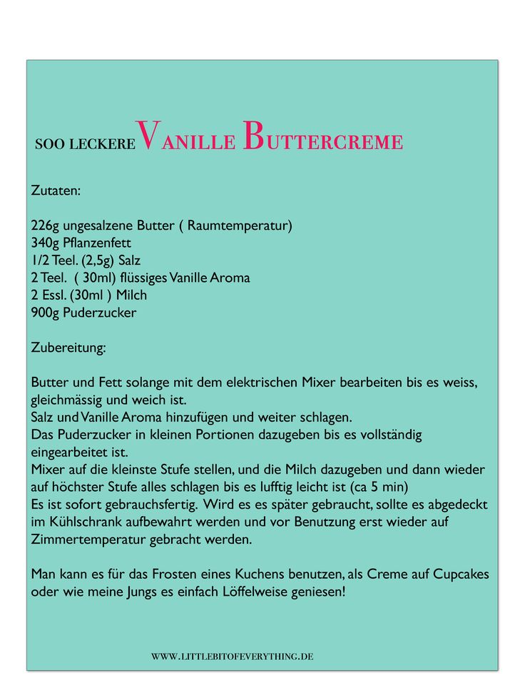 buttercreme
