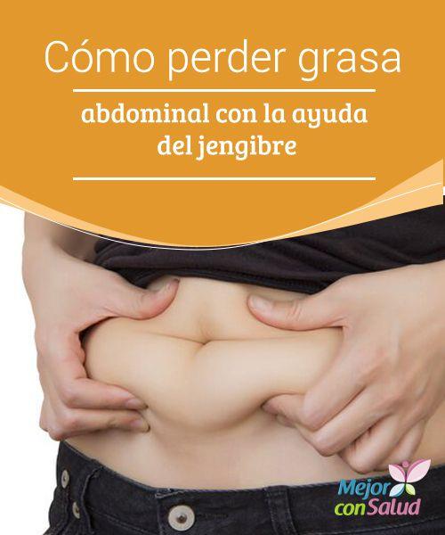 Cómo perder grasa abdominal con la ayuda del jengibre  La mayoría de personas desea tener un abdomen plano y tonificado que les permita lucir una figura más esbelta y moldeada.