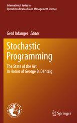 Stochastic programming : the state of the art in honor of George B. Dantzig / Gerd Infanger, editor. 2011. Máis información: http://www.springer.com/la/book/9781441916419
