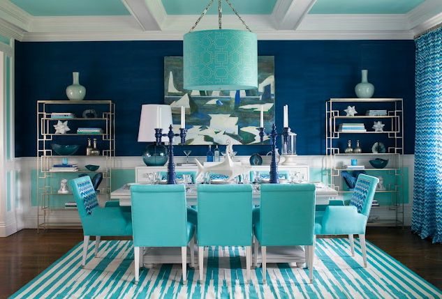 25 best ideas about navy dining rooms on pinterest blue - Navy blue and turquoise living room ...
