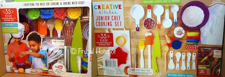 Creative Kitchen Junior Chef  Piece Cooking Set