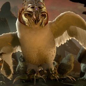 Legend of the Guardians-Snowy owl. ho, ya
