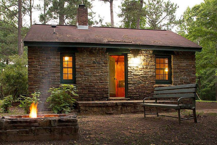 Spend A Weekend In The 1930 S Cabins At Chewacla State Park
