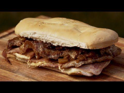 (7) Sándwich de Bondiola de Cerdo con Chutney Asado - Receta de Locos X el Asado - YouTube
