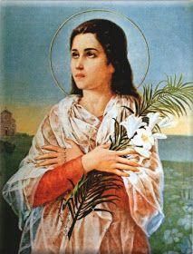 SANTA MARÍA GORETTI     VIRGEN Y MÁRTIR              Virgen Mártir de la Pureza     PALABRA DE DIOS DIARIA  María nace el 16 de octubre de ...