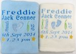 Item of the day: Personalised baby blanket from Angela's Embroidery