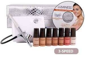 Luminess Air- makeup airbrush system. Definitely one of my new favorite toys!! Pure awesomeness!